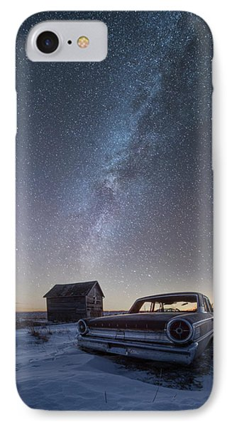IPhone Case featuring the photograph 3 Galaxies  by Aaron J Groen
