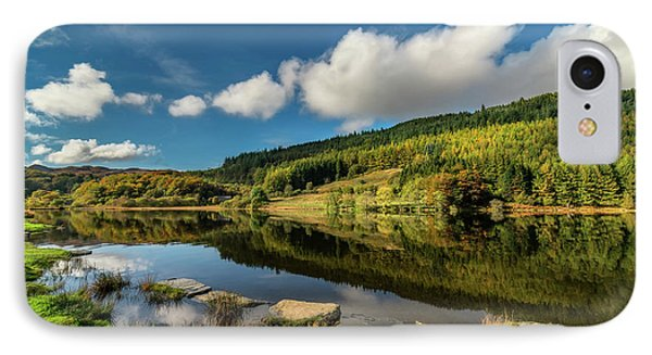 Geirionydd Lake IPhone Case by Adrian Evans