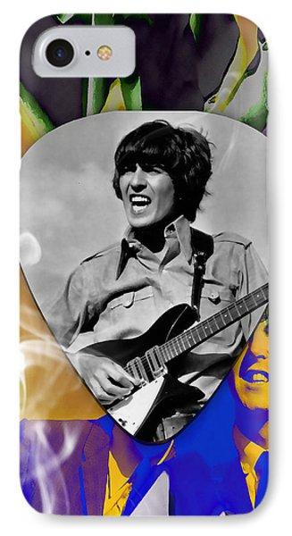 George Harrison Beatles Art IPhone Case
