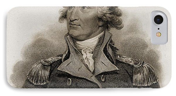George Washington, 1732-1799. First IPhone Case by Vintage Design Pics