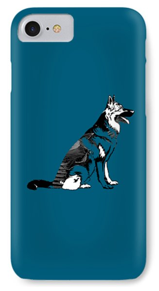 German Sheperd Collection IPhone Case by Marvin Blaine