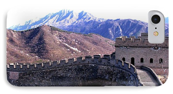 IPhone Case featuring the photograph Great Wall by Marti Green