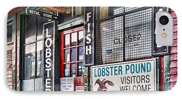 Harbor Fish Mkt IPhone Case by Richard Bean