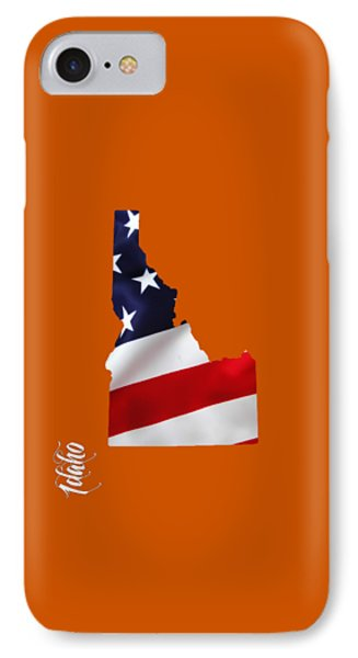 Idaho State Map Collection IPhone Case by Marvin Blaine