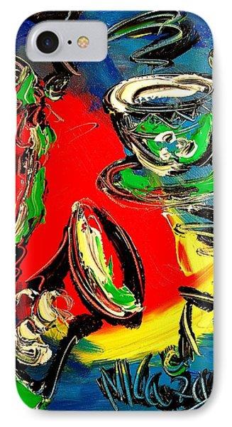 Jazz Phone Case by Mark Kazav