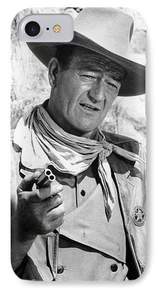 John Wayne (1907-1979) Phone Case by Granger