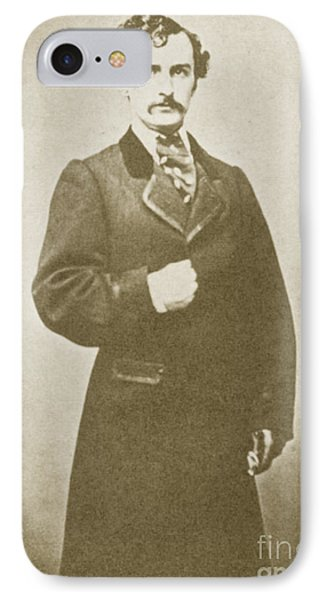 John Wilkes Booth, American Assassin Phone Case by Photo Researchers
