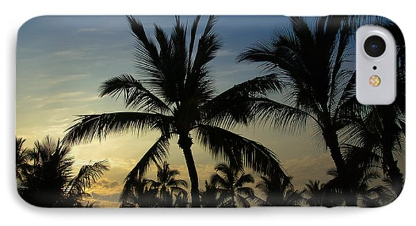 IPhone Case featuring the photograph Kona Sunset by Kelly Wade