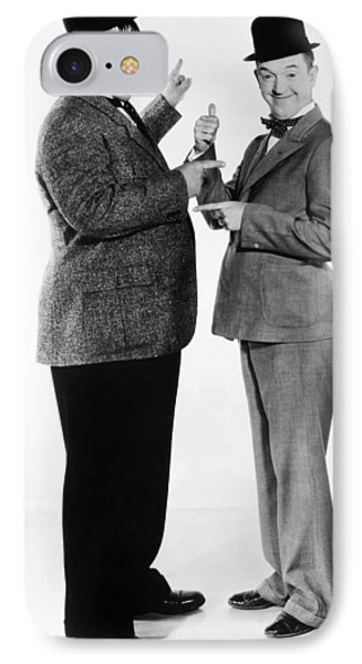 Laurel And Hardy Phone Case by Granger