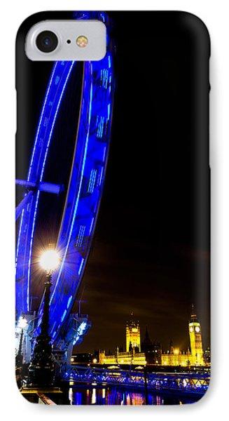 London Eye Night View IPhone Case