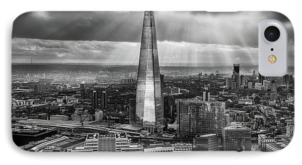 London From The Sky Garden IPhone Case by Ian Hufton