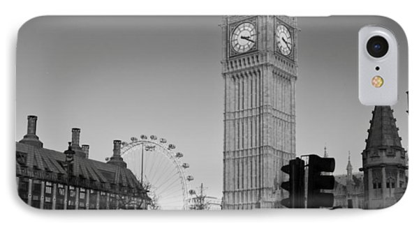 London  Skyline Big Ben IPhone Case by David French