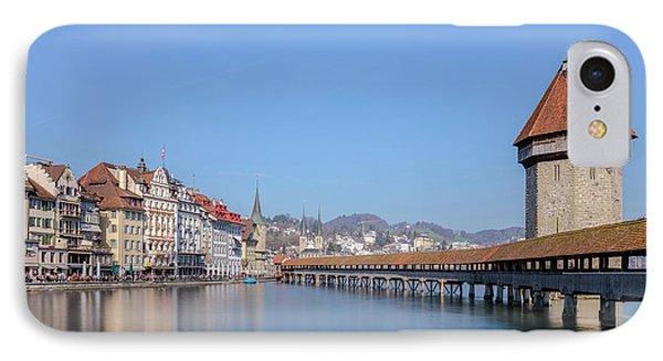 Lucerne - Switzerland IPhone Case by Joana Kruse