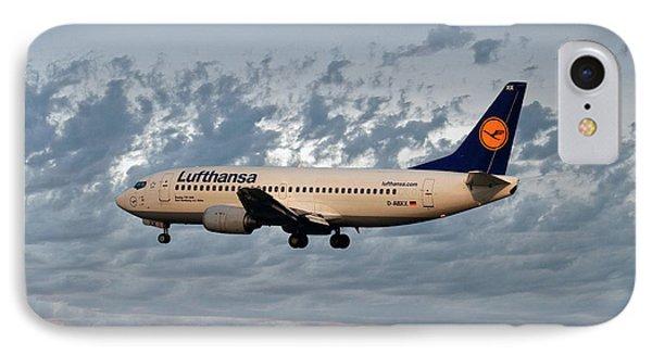 Jet iPhone 7 Case - Lufthansa Boeing 737-300 by Smart Aviation