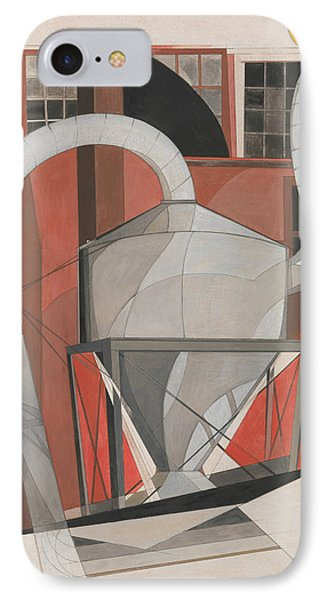 Machinery IPhone Case by Charles Demuth