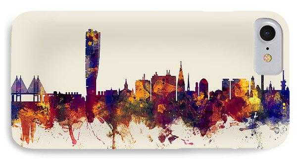 Malmo Sweden Skyline IPhone Case