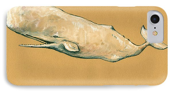 Moby Dick The White Sperm Whale  IPhone 7 Case