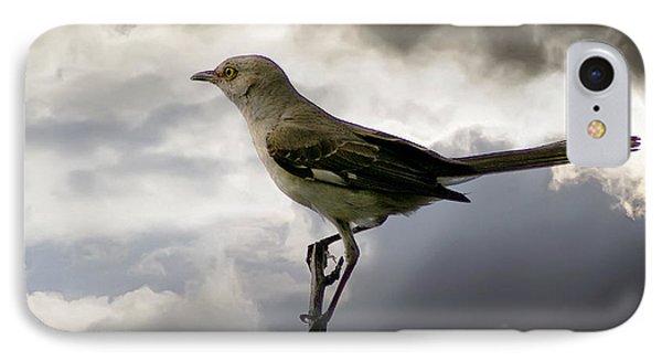 Mockingbird Phone Case by Brian Wallace