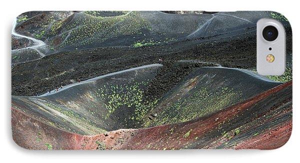 Mount Etna IPhone Case