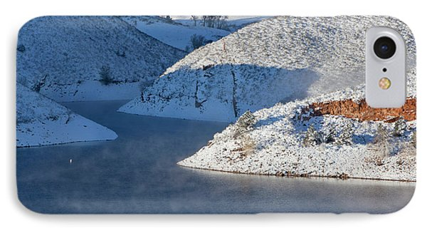 Mountain Lake In Winter IPhone Case by Marek Uliasz
