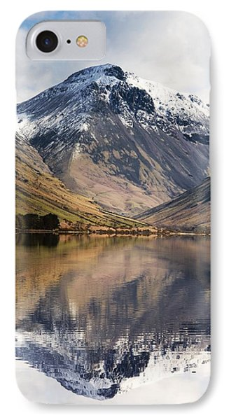 Mountains And Lake, Lake District Phone Case by John Short