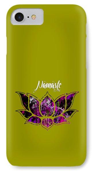 Namaste IPhone Case by Marvin Blaine