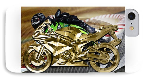 Ninja Motorcycle Collection IPhone Case by Marvin Blaine