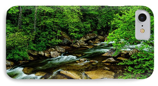 North Fork Cherry River IPhone Case by Thomas R Fletcher