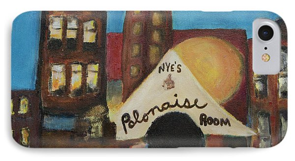 IPhone Case featuring the painting Nye's Polonaise Room by Susan Stone