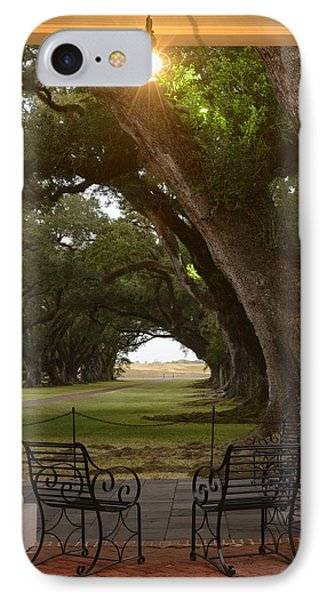 Oak Alley IPhone Case by Christian Heeb