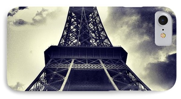 #paris IPhone Case by Ritchie Garrod