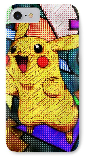 Pokemon - Pikachu IPhone Case by Kyle West