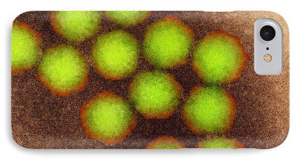 Poliovirus Particles, Tem IPhone Case