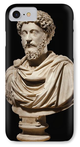 Portrait Bust Of Emperor Marcus Aurelius IPhone Case