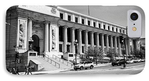 Postal Square Building Washington Dc Usa IPhone 7 Case