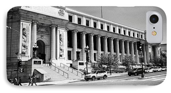 Postal Square Building Washington Dc Usa IPhone Case