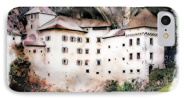 IPhone Case featuring the photograph Predjama Castle, Predjama Slovenia by Joseph Hendrix