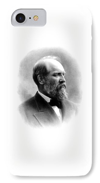 President James Garfield Phone Case by War Is Hell Store