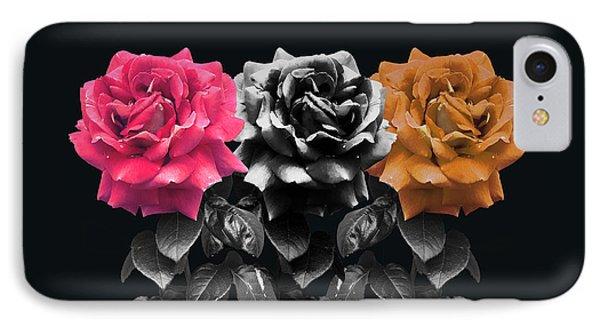 3 Roses IPhone Case