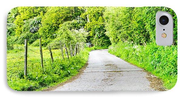 Rural Road IPhone Case