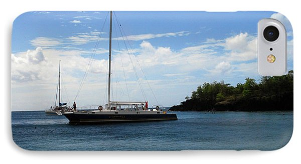 IPhone Case featuring the photograph Sail Boat by Gary Wonning