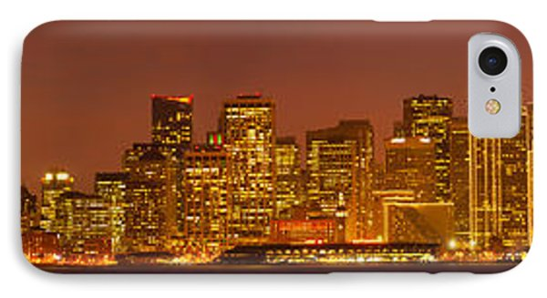 San Francisco Financial District IPhone Case by Panoramic Images