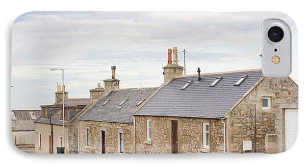 Scottish Bungalows IPhone Case by Tom Gowanlock