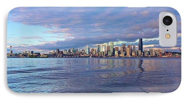 Seattle Skyline Cityscape IPhone Case