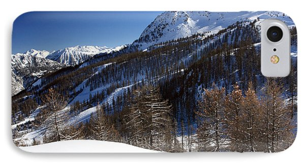 Serre Chevalier In The French Alps Phone Case by Pierre Leclerc Photography