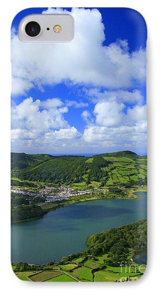 Sete Cidades - Azores Phone Case by Gaspar Avila