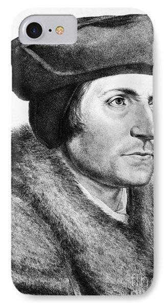 Sir Thomas More (1478-1535) Phone Case by Granger