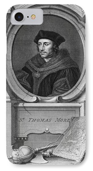 Sir Thomas More, English Statesman Phone Case by Middle Temple Library