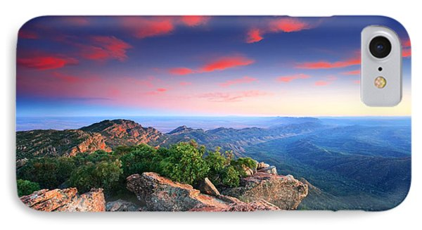 St Mary Peak Sunrise IPhone Case