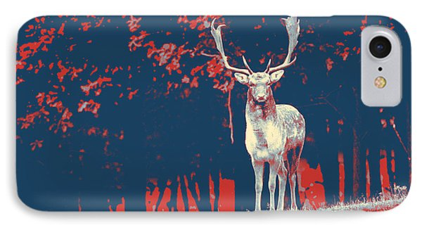 Stag IPhone Case by Artistic Panda